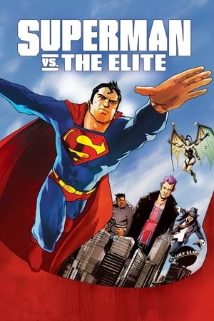 Poster Superman vs. The Elite (2012)