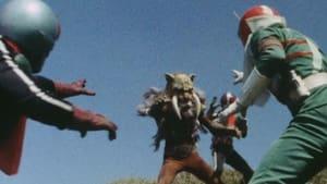 Kamen Rider Season 2 :Episode 34  Critical Moment! Baron Fang vs. Three Riders!!