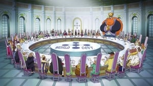One Piece Season 20 :Episode 889  Finally, It Starts! The Conspiracy-filled Reverie!