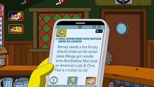 The Simpsons Season 0 :Episode 78  Moe Live Tweets!