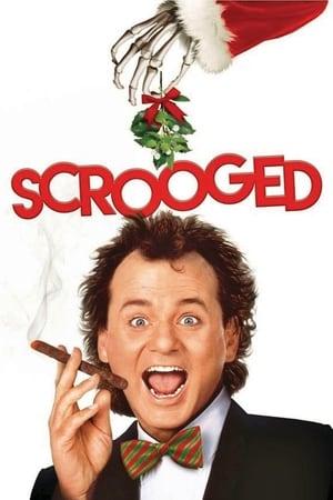Scrooged film posters