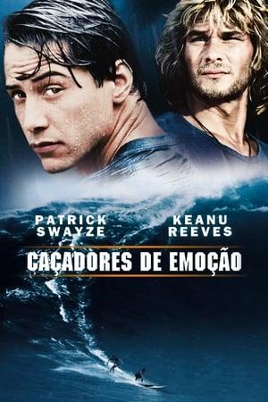 Caçadores de Emoção Torrent, Download, movie, filme, poster