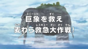 One Piece Season 18 :Episode 775  Save Zunisha - The Straw Hat's Rescue Operation!