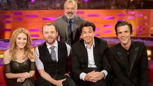 Simon Pegg, Michael McIntyre, Brandon Flowers