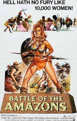 Poster Battle of the Amazons