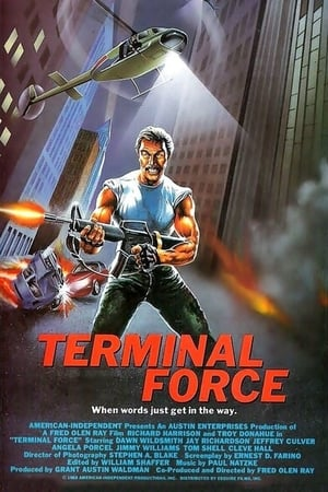 Terminal Force poster