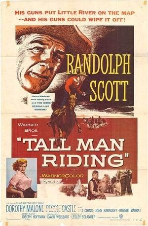 Poster Tall Man Riding