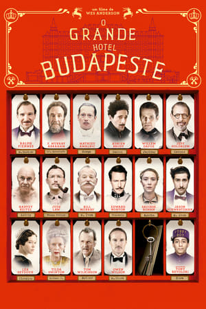 O Grande Hotel Budapeste Torrent, Download, movie, filme, poster