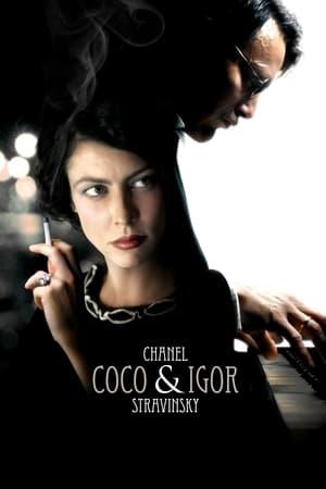 Image Coco Chanel & Igor Stravinsky