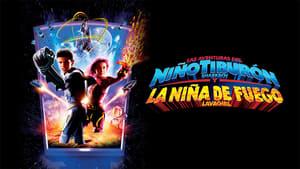 Captura de Las aventuras del niño tiburón y la niña de fuego en 3-D (2005)