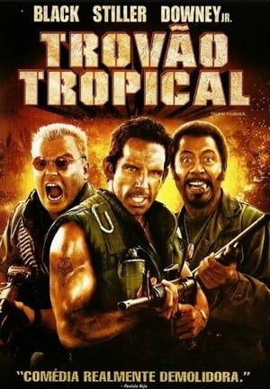Trovão Tropical Torrent, Download, movie, filme, poster