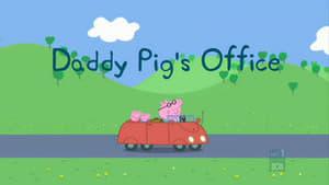 En la oficina de Papá Pig