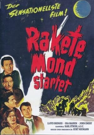 Rakete Mond startet Film