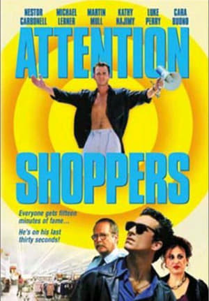 Poster Attention Shoppers (2000)
