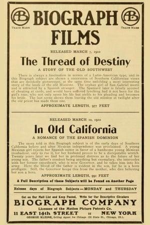 The Thread of Destiny (1910)