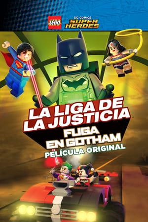 VER LEGO DC Super Heroes: La liga de la justicia. Fuga en Gotham (2016) Online Gratis HD