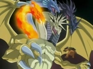 Fusing souls! Neos vs. Five God Dragon