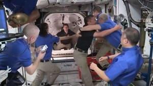 Thomas Pesquet, arrimage à l'ISS (2021)