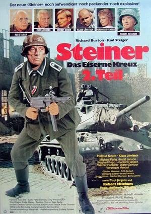 Filmposter Steiner - Das Eiserne Kreuz Teil II