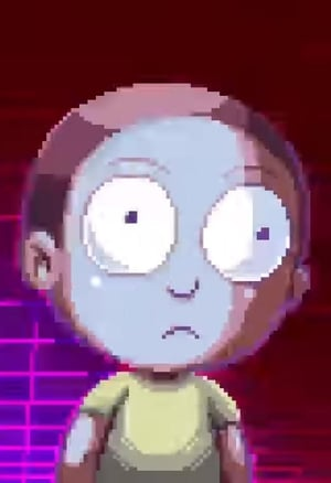 Image Rick and Morty: Pixelated