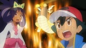 Dragon Battle! Satoshi vs Iris!!