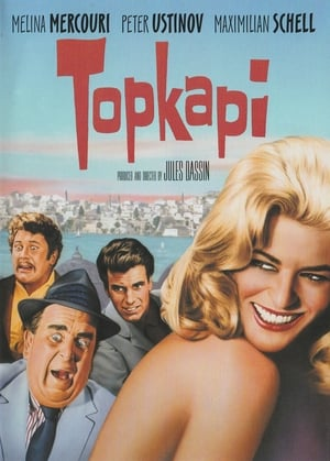 Capa do filme Topkapi