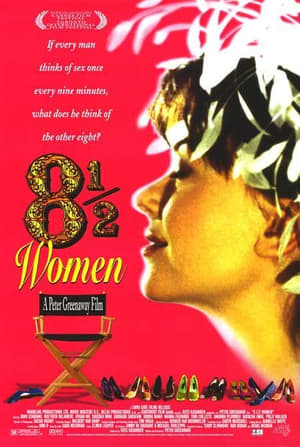 Capa do filme 8 ½ Mulheres