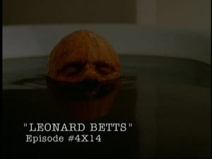 The X-Files Season 0 : Behind the truth - Leonard Betts