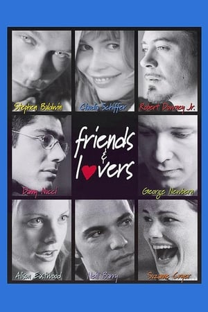 Filmposter Friends & Lovers