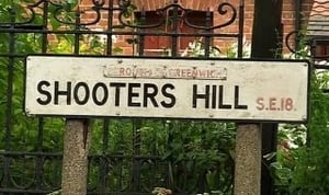 South London - Blitzkreig On Shooter's Hill
