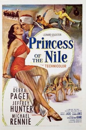 Capa do filme A Princesa do Nilo