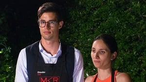 My Kitchen Rules Season 6 :Episode 41  Finals Instant Restaurant Round: Drasko & Bianca (WA)