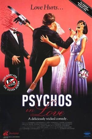 Poster Psychos in Love (1987)