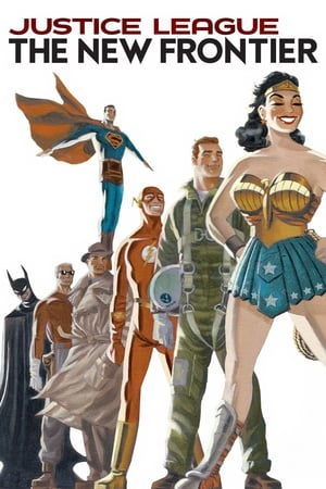 Poster Justice League: The New Frontier (2008)