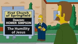 The Simpsons Season 24 :Episode 18  Pulpit Friction