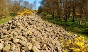 Hamsterley, County Durham - Five Thousand Tons Of Stone