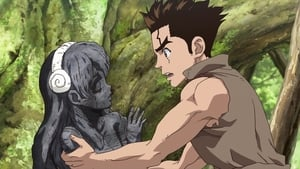 Dr. Stone Episódio 02 – Rei do Mundo da Pedra
