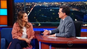 The Late Show with Stephen Colbert Season 2 :Episode 3  Jessica Alba, Bradley Whitford, George Takei