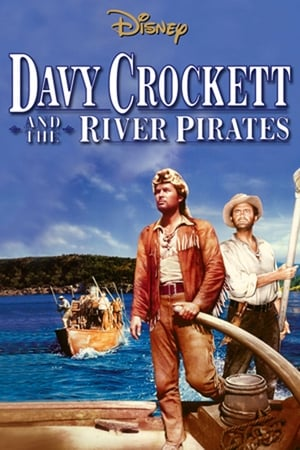 Poster Davy Crockett and the River Pirates