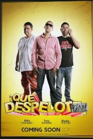 Capa do filme ¡Qué Despelotón!