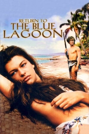Capa do filme De Volta à Lagoa Azul