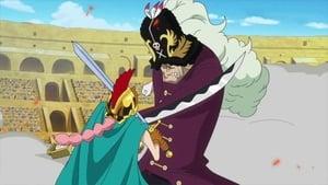 Flame Dragon King! Protect Luffy's Life!