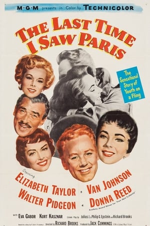 A Última Vez Que Vi Paris Torrent, Download, movie, filme, poster