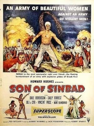 Cubierta de la película El hijo de Simbad