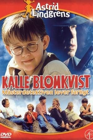 Capa do filme Kalle Blomkvist: Mästerdetektiven lever farligt
