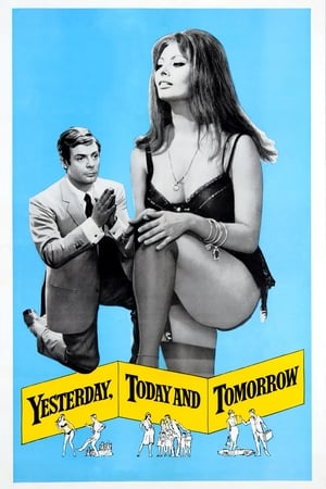 Poster Yesterday, Today and Tomorrow (1963)