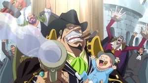 One Piece Season 19 :Episode 860  A Man's Way of Life - Bege and Luffy's Determination as Captains