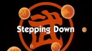 Now you watch episode Stepping Down - Dragon Ball