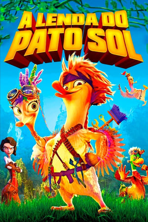 A Lenda do Pato Sol Torrent, Download, movie, filme, poster