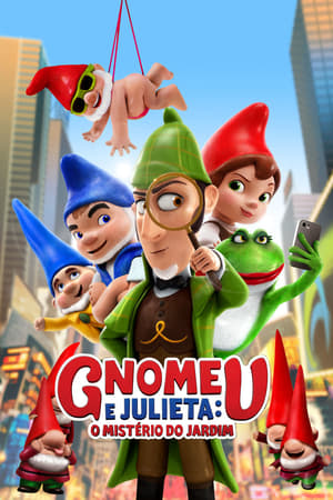 Gnomeu e Julieta – O Mistério do Jardim Torrent, Download, movie, filme, poster